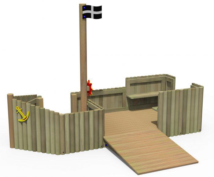 Log play ship