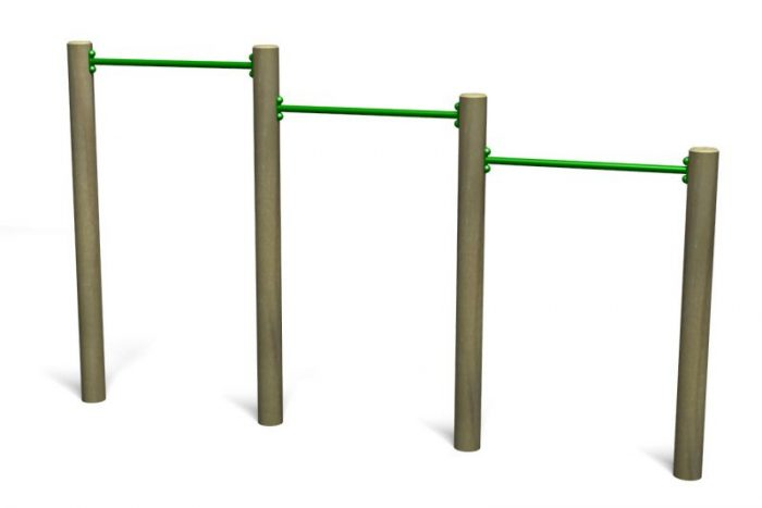 Pull up bars image