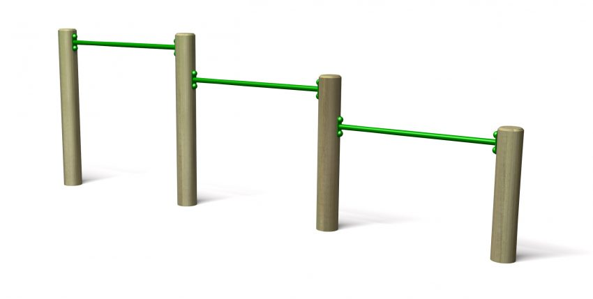 Playground roll over bars