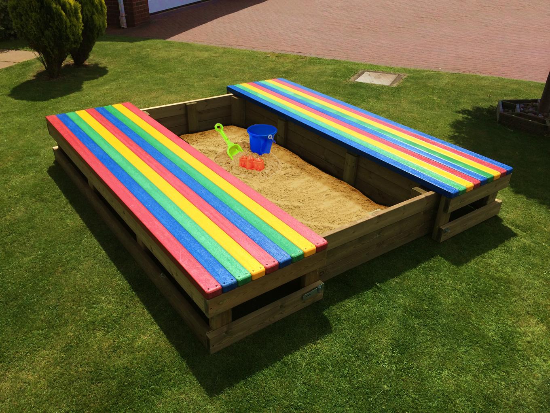 Playground sand pit