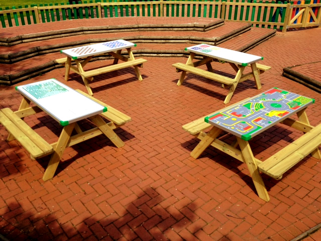 Play benches Cheshire