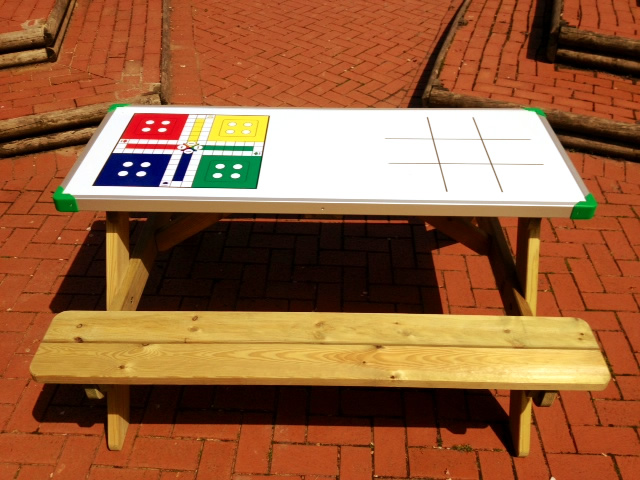 Game Top Picnic Table The Playground Company
