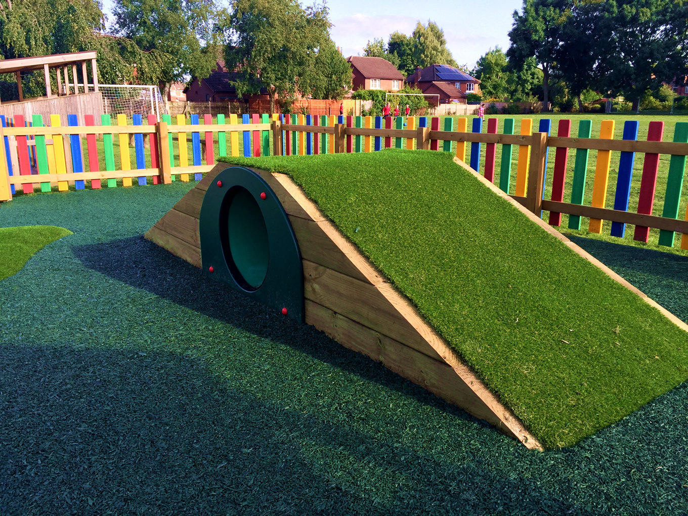 Tunnel Mounds Hill Top Tunnels Playground Equipment