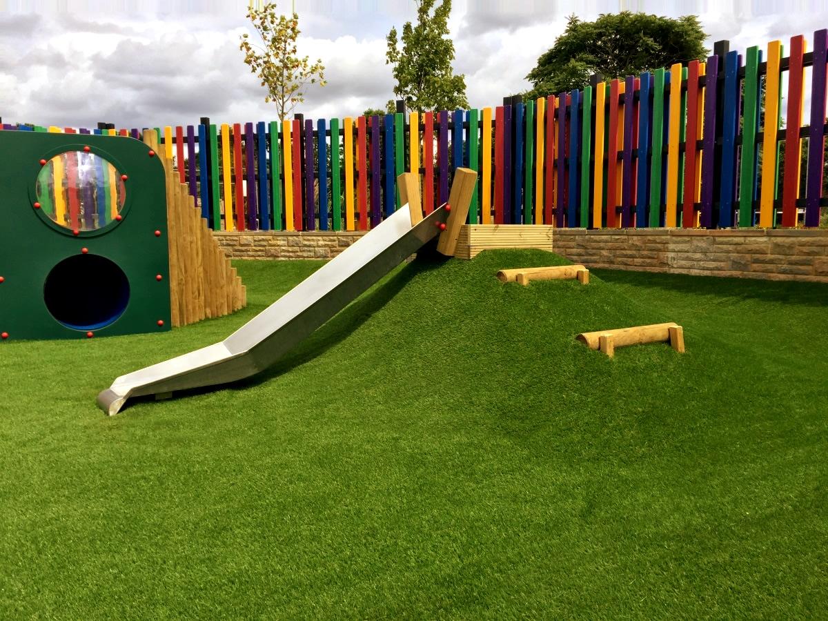 Mound Slide The Playground Company Playground Equipment